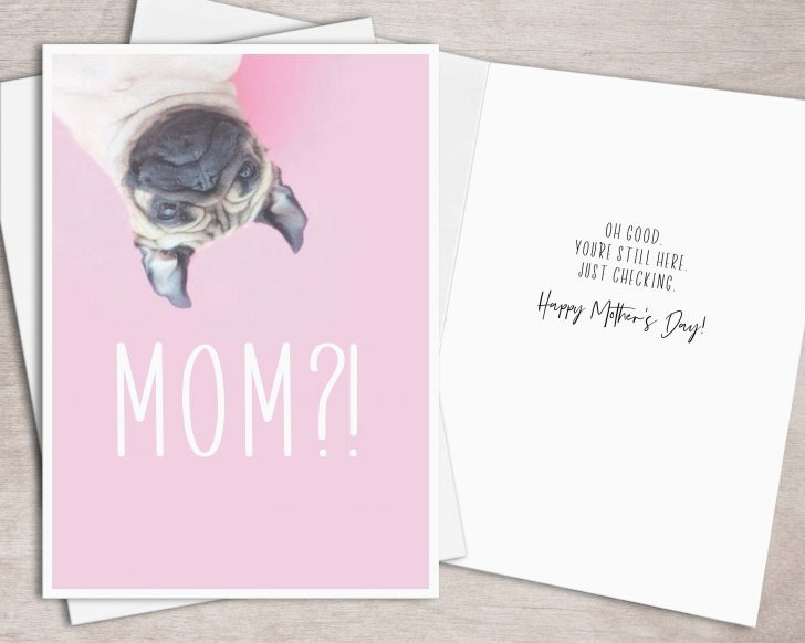 Free Printable Mothers Day Cards From The Dog