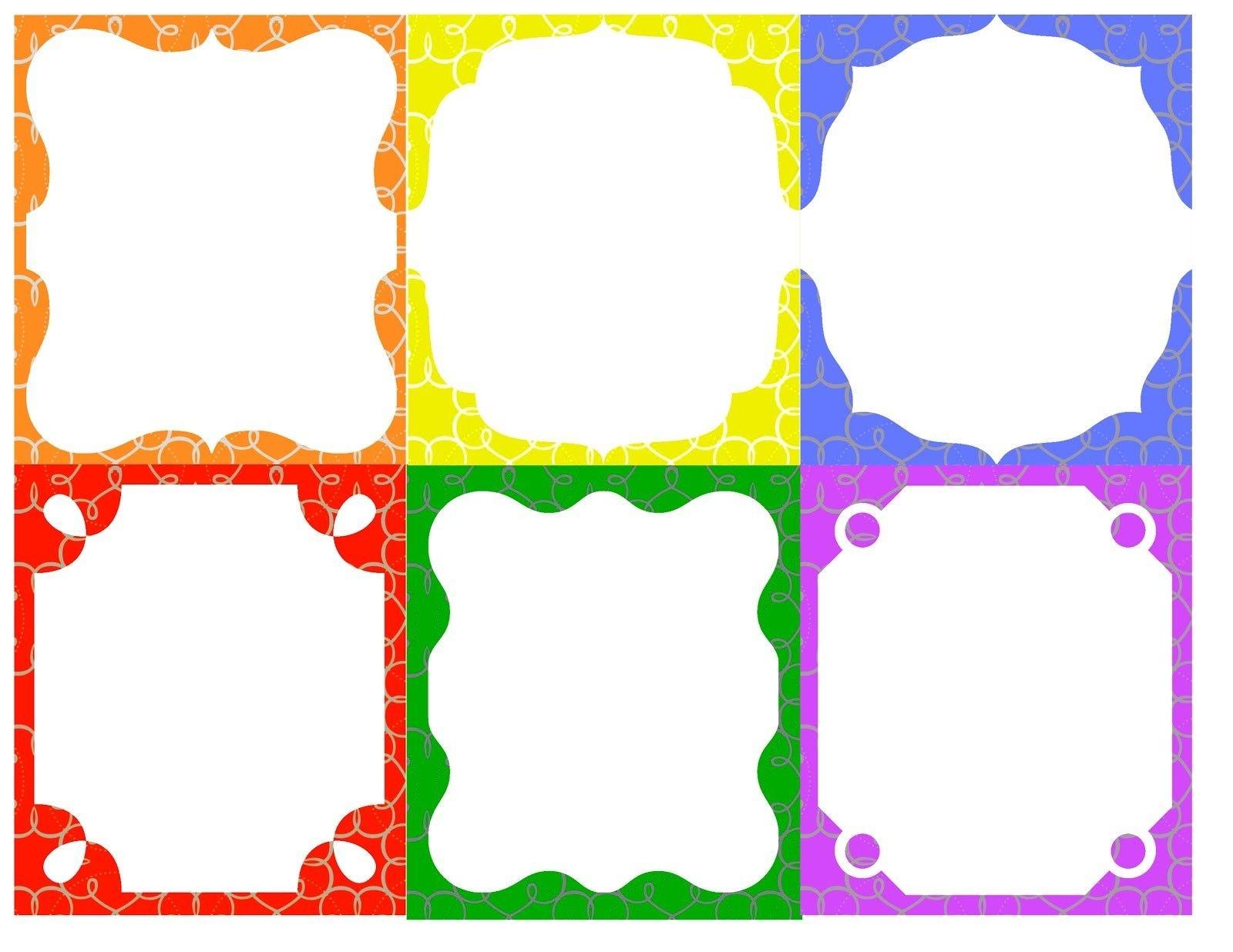 Printable Name Tag Templates For Kids | Diy Gifts | Name Tag - Free Printable Name Labels For Kids