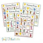 Printable Nativity Bingo Game | Games | Printable Christmas Games   Bible Bingo Free Printables