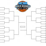 Printable Ncaa Men's D1 Bracket For 2019 March Madness Tournament   Free Printable Brackets