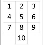 Printable Number Charts 1 10 | Activity Shelter   Free Printable Number Chart 1 10