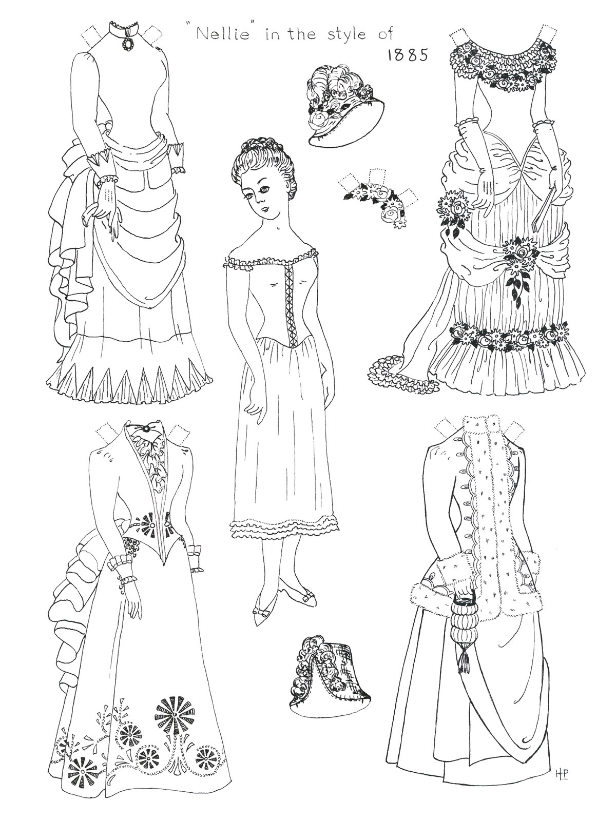 Printable Paper Doll Coloring Pages | Coloringme - Printable Paper Dolls To Color Free