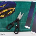 Printable Pilot Hat Templatewowprintables   Download Now!   Free Printable Pilot Hat Template