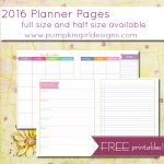 Printable Planner Pages   The Mac And Cheese Chronicles   Free Printable Diary Pages