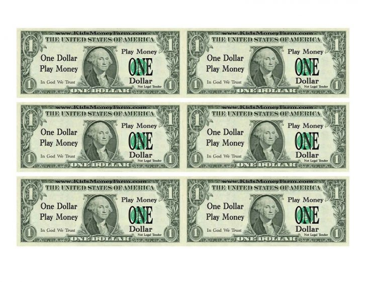Free Printable Million Dollar Bill