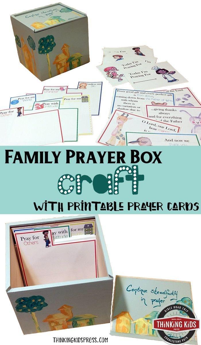 Printable Prayer Cards - Homeschool Printables For Free | Serving - Free Printable Prayer Cards For Children