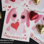 Printable Puppy Valentine's Day Cards   Inspiration Made Simple   Free Printable Dog Valentines Day Cards