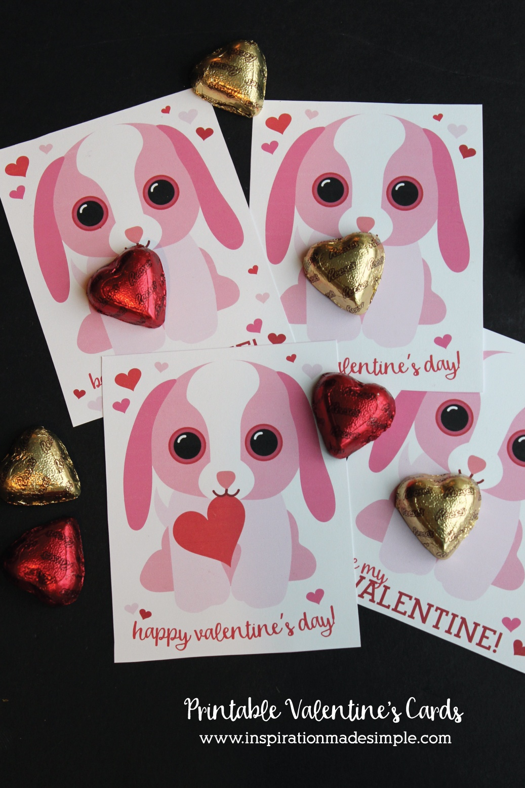 Printable Puppy Valentine's Day Cards - Inspiration Made Simple - Free Printable Dog Valentines Day Cards