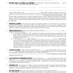 Printable Residential Free House Lease Agreement | Residential Lease   Free Printable Residential Rental Agreement Forms