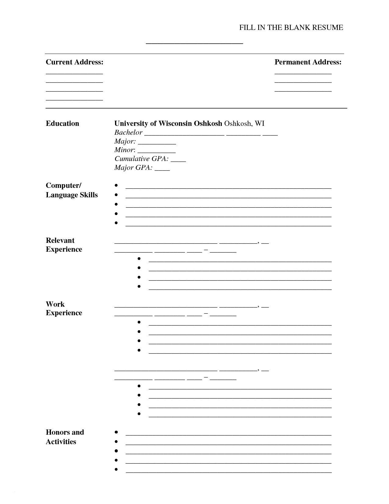 Printable Resume Maker - Tjfs-Journal - Free Printable Resume Templates Download