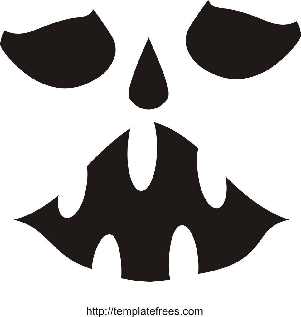 Printable Scary Pumpkin Carving Stencils | Free Printable Pumpkin - Free Printable Pumpkin Stencil