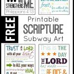 Printable Scripture Subway Art {Free}   My Joy Filled Life   Free Printable Subway Art Template