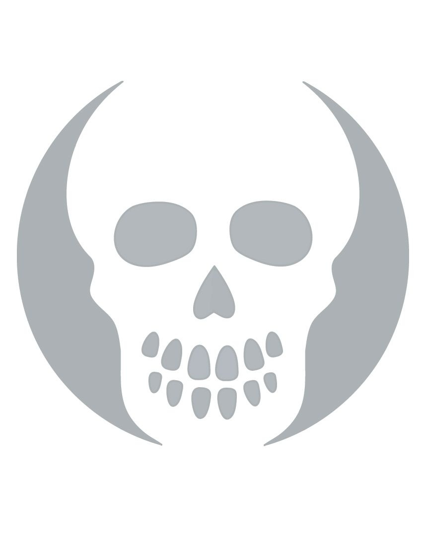 Printable Skull Stencil Coolest Free Printables   Halloween   Skull - Free Printable Sugar Skull Pumpkin Stencils