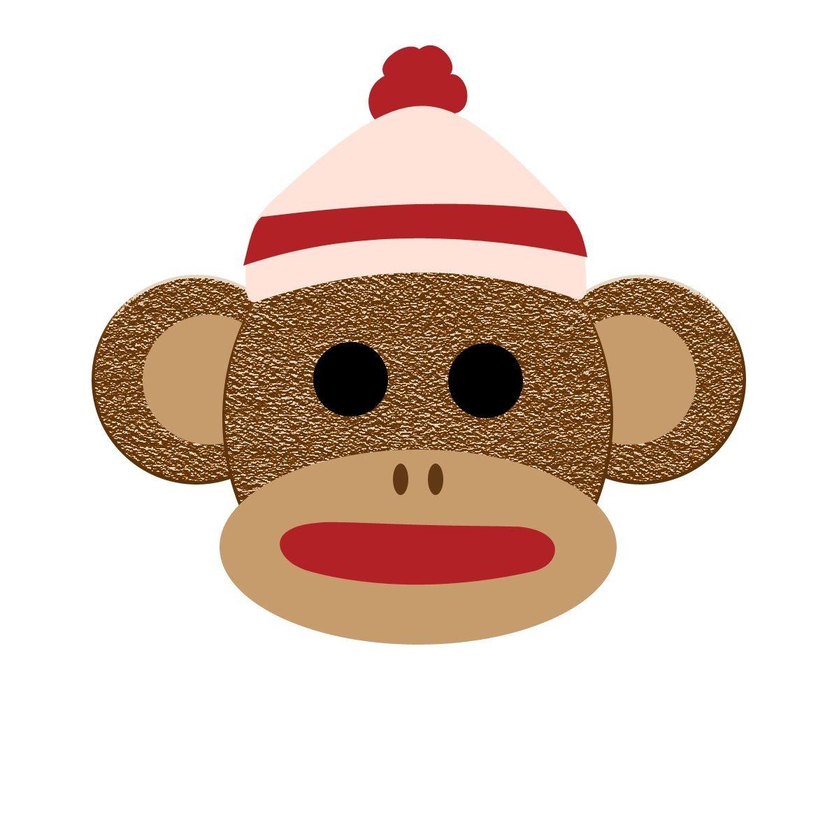 Printable Sock Monkey Clip Art For Free – 101 Clip Art | Monkey - Free Printable Sock Monkey Clip Art
