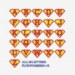 Printable Superman Birthday Banner For A Super Hero Birthday Party   Free Printable Birthday Banners Personalized