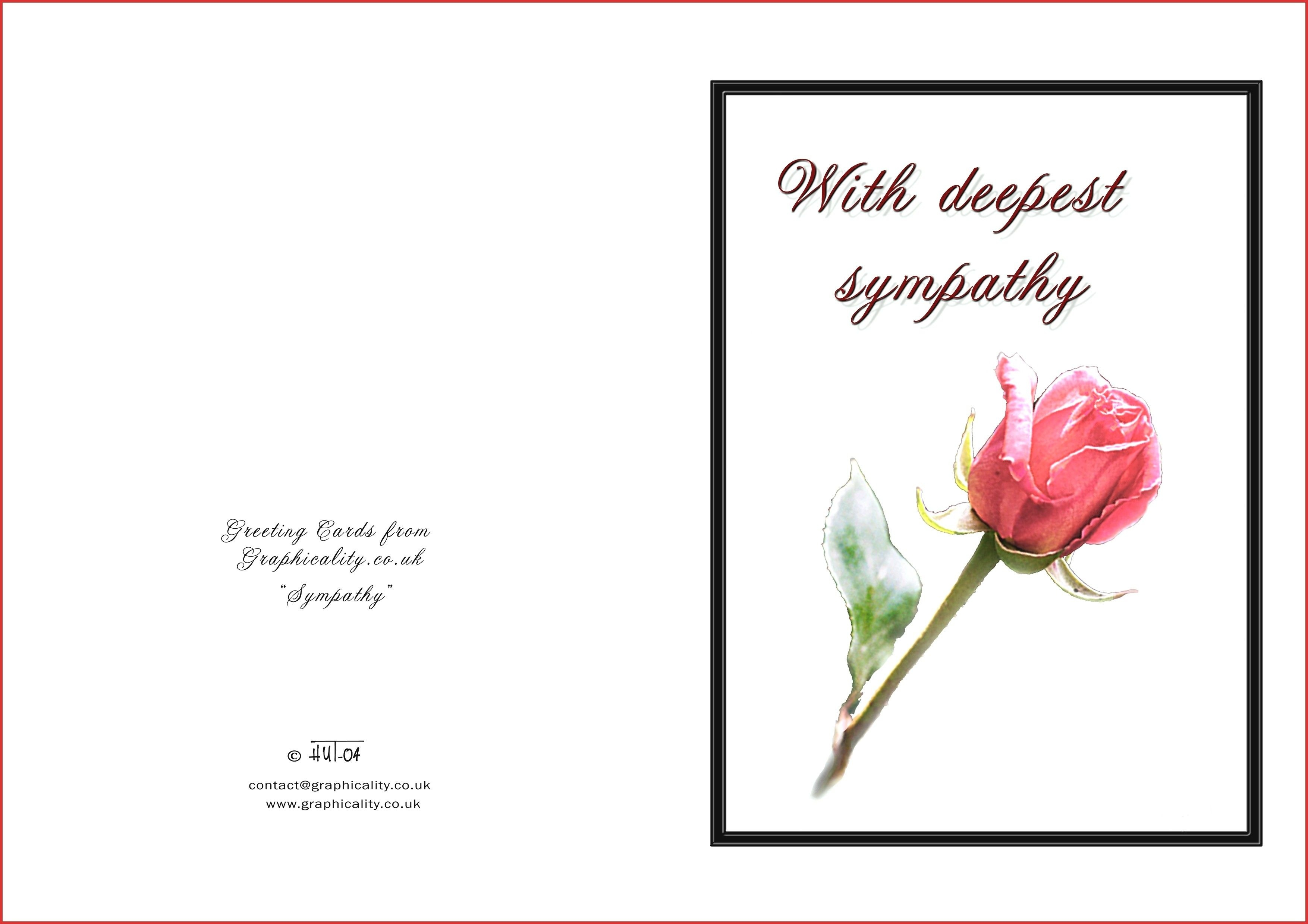 Printable Sympathy - Free Printable Sympathy Cards