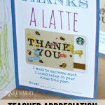 Printable Teacher Appreciation Card For The End Of School   Free Printable Teacher Appreciation Cards