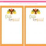 Printable Thanksgiving Menu Templates For Free – Happy Easter   Free Printable Thanksgiving Menu Template
