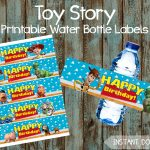 Printable Toy Story Water Bottle Labels Toy Story Lables Toy | Etsy   Free Printable Toy Story Water Bottle Labels