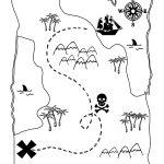 Printable Treasure Map Kids Activity | Printables | Pirate Maps   Free Printable Pirate Maps