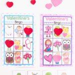 Printable Valentine's Bingo Game   Fun With Mama   Free Printable Valentines Bingo