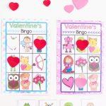 Printable Valentine's Bingo Game | Valentine's Day | Valentine Bingo   Free Printable Valentine Games For Adults