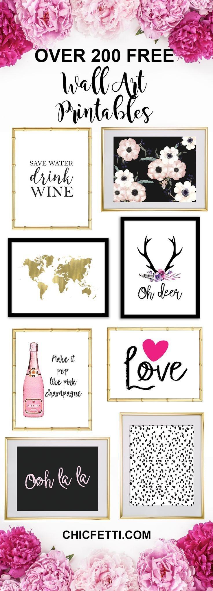 Printable Wall Art - Print Wall Decor And Poster Prints For Your - Free Printable Artwork To Frame