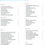 Printable Weekly Housework Checklist | Cleaning Printables | Weekly   Free Printable Housework Checklist