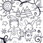 Printable Winter Coloring Pages   Marcia Beckett   Free Printable Winter Coloring Pages