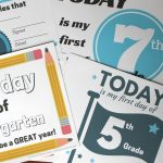 Printed Certificates | A Plan In Place   Free Printable First Day Of School Certificate