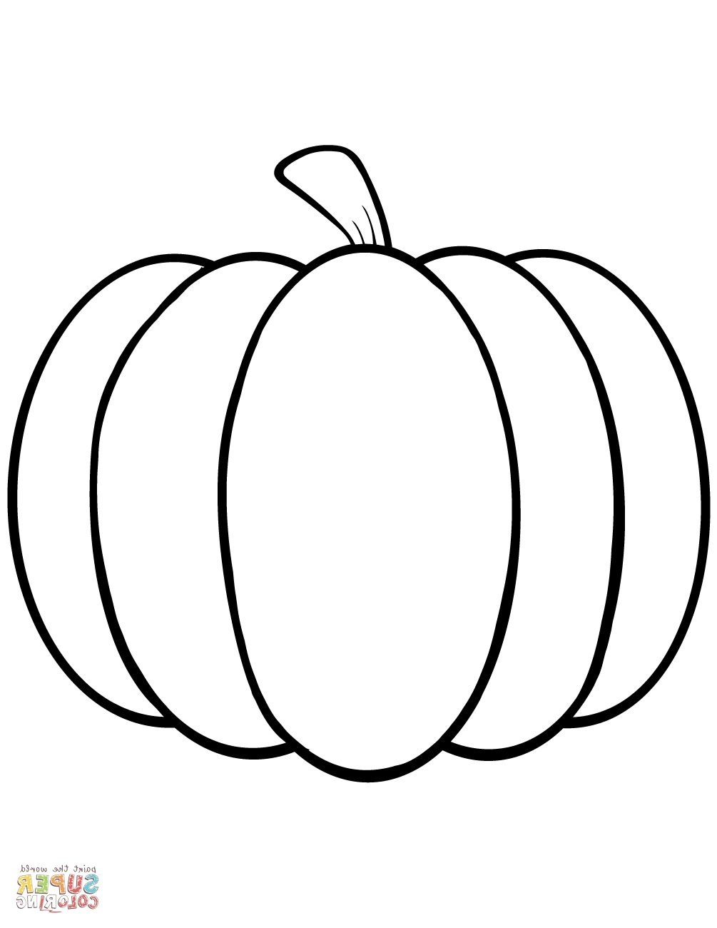 Pumpkin Coloring Sheet   Coloring Page   Pumpkin Coloring Pages - Free Printable Pumpkin Coloring Pages