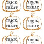 Pumpkin Tags Free Printable | Party Like A Cherry | Halloween Treats   Free Printable Trick Or Treat Bags