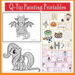 Q Tip Painting Templates And Do A Dot Printables   Printables 4 Mom   Do A Dot Art Pages Free Printable