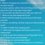 Questions For Couples: 69 Thought Provoking Conversation Starters   Free Printable Compatibility Test For Couples