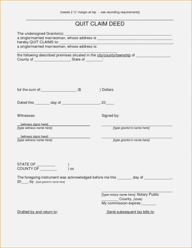 Quit Claim Deed Form I Will Tell You The Truth About Free Printable - Free Printable Quit Claim Deed Form Indiana