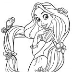 Rapunzel Coloring Pages Free Printable Tangled Coloring Pages For   Free Printable Tangled