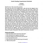 Reading Worksheets   Fourth Grade Reading Worksheets   Free Printable 4Th Grade Reading Worksheets