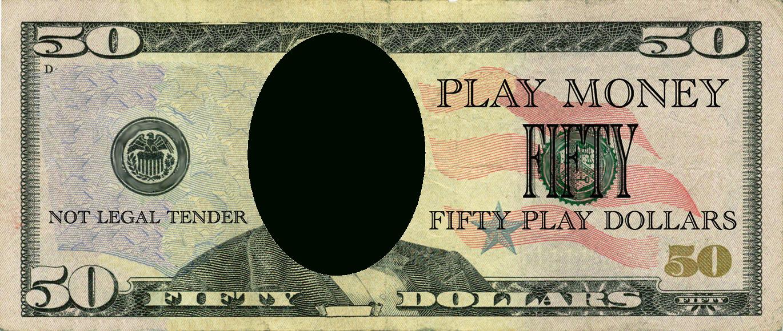 Realistic Play Money Templates | Free Printable Play Money Templates - Free Printable Play Money