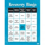 Recovery Bingo! Game For Adults | Addiction & Recovery | Group   Free Printable Recovery Games