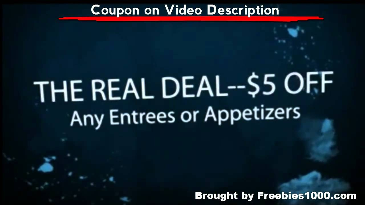 Red Lobster Coupons - Printable Red Lobster Coupons - Youtube - Free Printable Red Lobster Coupons