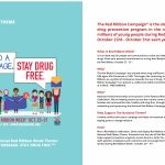 Red Ribbon Campaign: Downloads   Free Printable Drug Free Pledge Cards