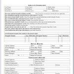 Rental Application Forms Free Printable   Form : Resume Examples   Free Printable House Rental Application Form