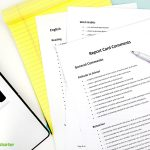Report Card Comments Teaching Resource | Teach Starter   Free Printable Report Card Comments