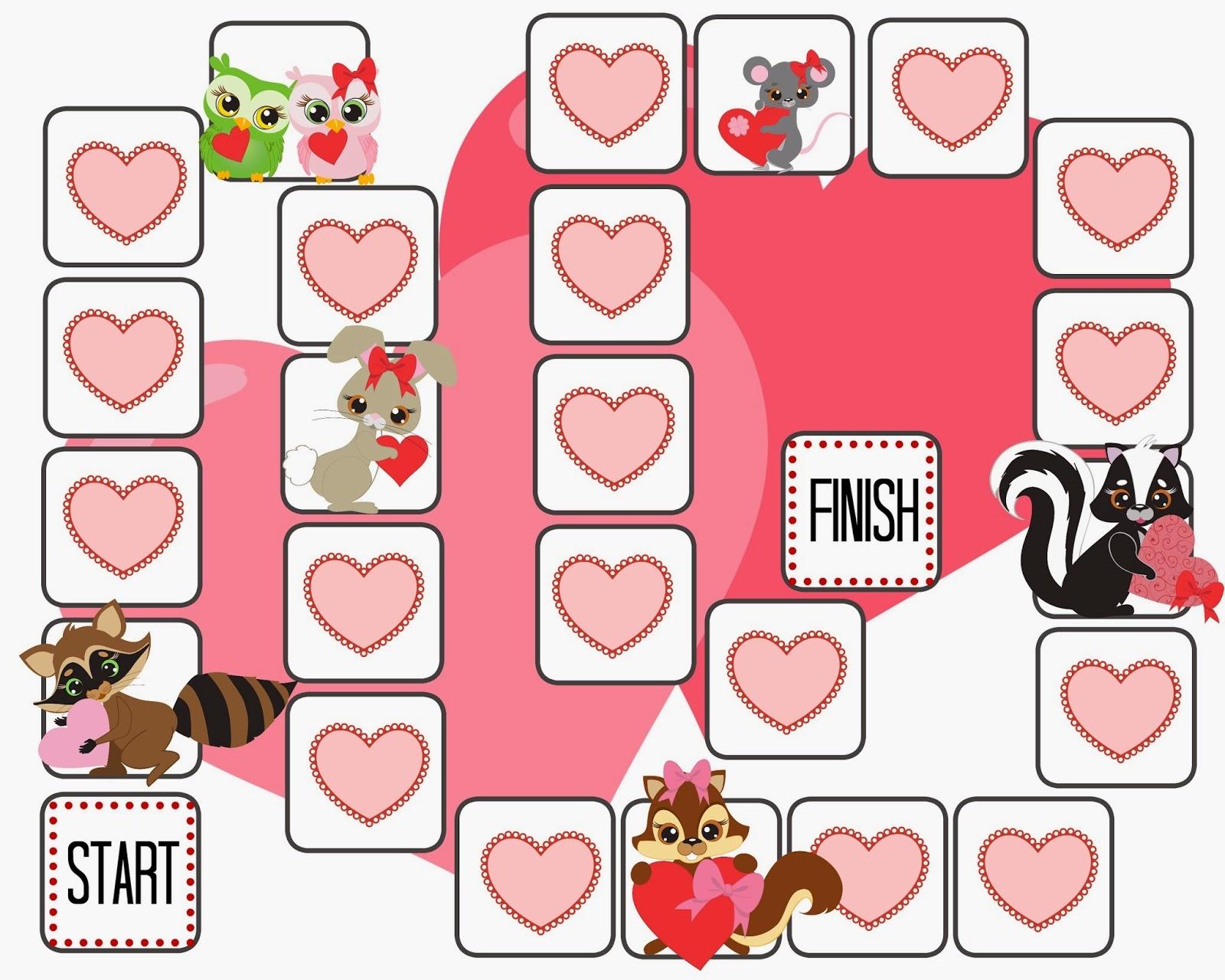Restlessrisa: Free Printable Valentine Game - Free Printable Valentine Game