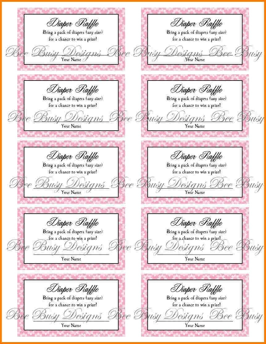 Review Free Printable Diaper Raffle Tickets For Baby Shower - Ideas - Free Printable Diaper Raffle Ticket Template