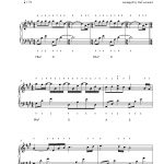River Flows In Youyiruma Piano Sheet Music | Advanced Level   Free Printable Sheet Music For Piano
