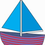 Sailboat Drawing For Kids | Free Download Best Sailboat Drawing For   Free Printable Sailboat Template