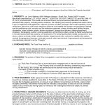 Sales Agreement Template Free     Free Real Estate Purchase   Free Printable Real Estate Purchase Agreement