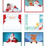 Santa's Little Gift To You! Free Printable Gift Tags And Labels   Free Printable Holiday Labels