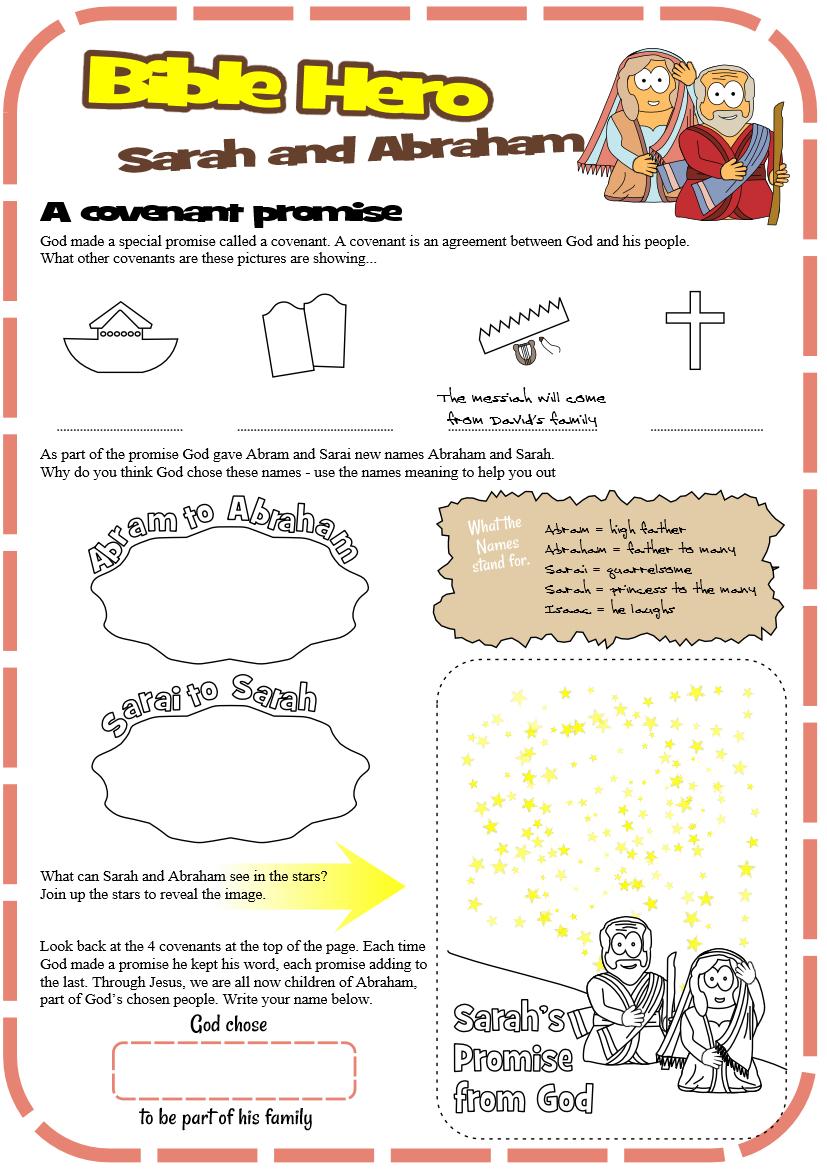 Sarah And Abraham (Genesis 17) | Kids Bible Study | Bible Study For - Free Printable Bible Study Lessons Genesis
